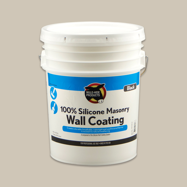 100% Silicone Masonry Wall Coating