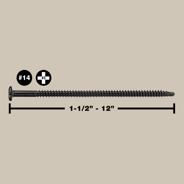 HDP Fasteners (#14)