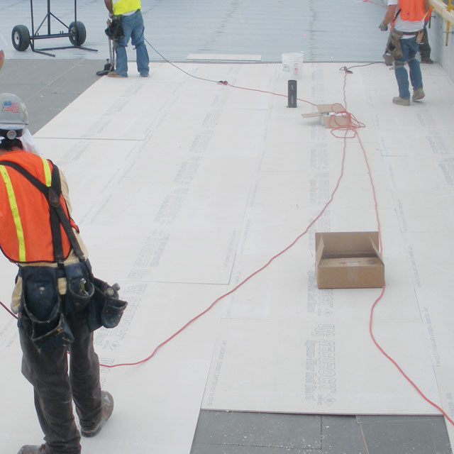 USG Securock Gypsum-Fiber Roof Board